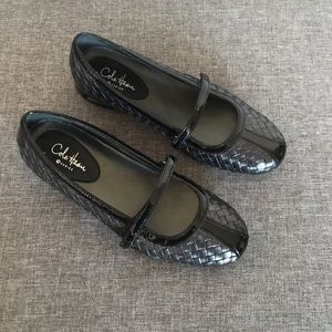 COLE HAAN Woven Flat 6B Air Bria Woven Mary Jane